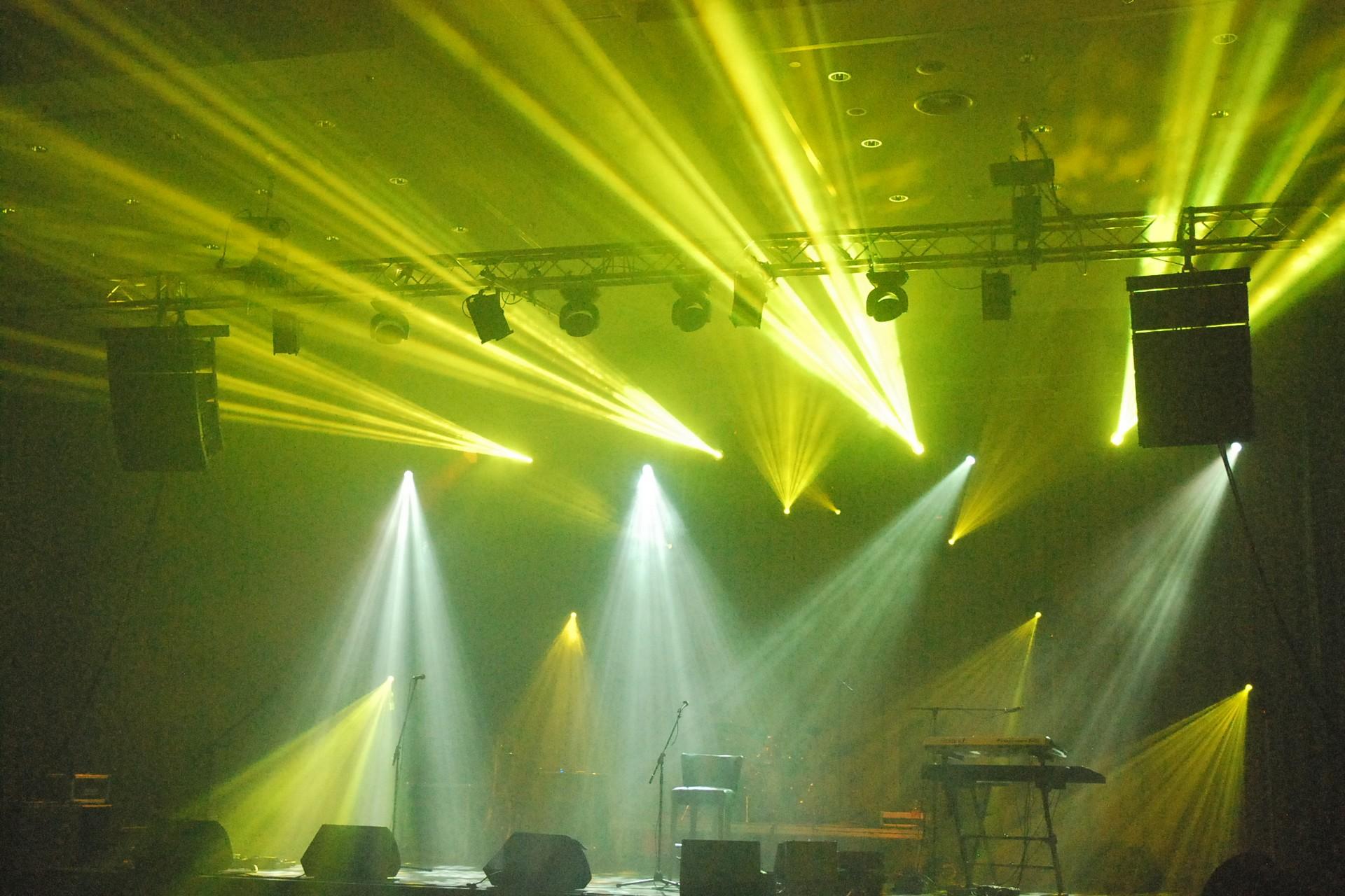 Oświetlene koncertu Gdańsk